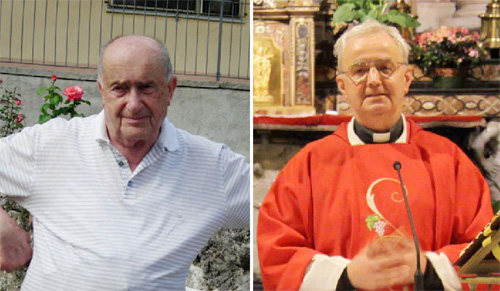 Don Silvino Vighetto e don Franco Davì