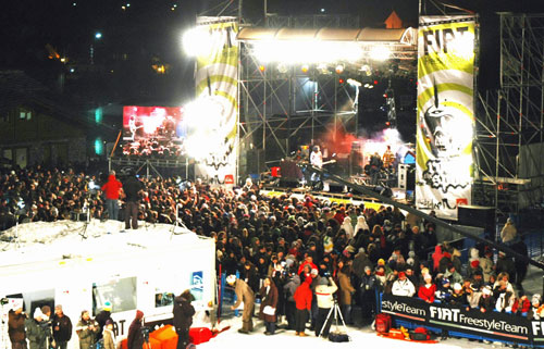 Una foto dell'edizione 2008 di Rock The Spot