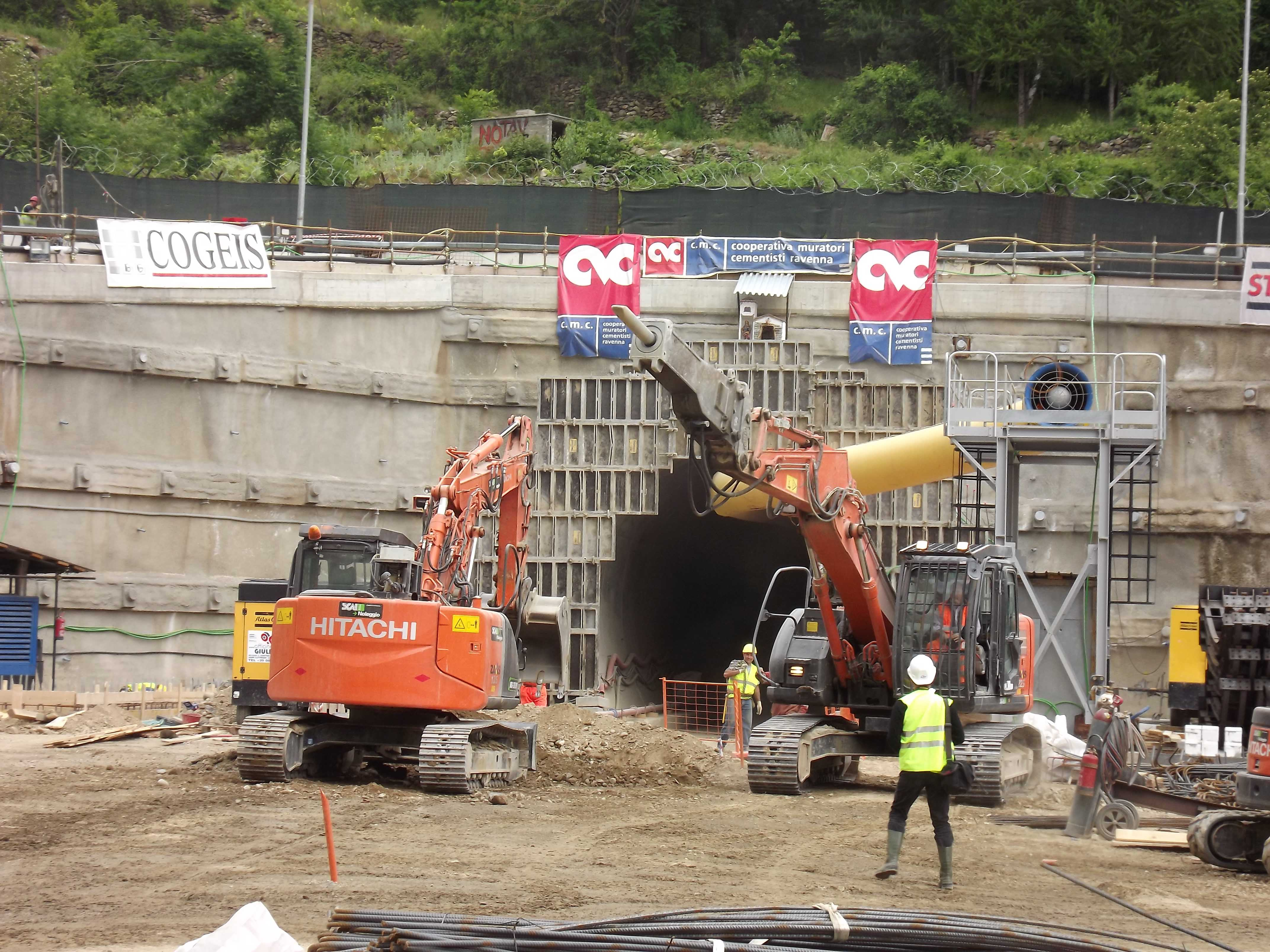 Tunnel Tav, appalti nel 2014