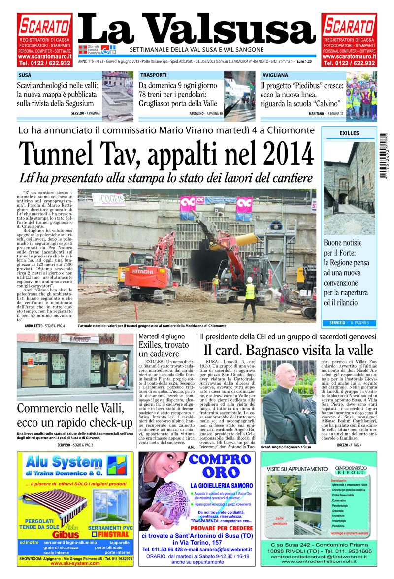 n. 23 del 6 giugno 2013