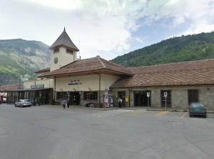 La stazione di Bardonecchia