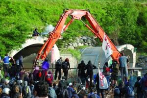 Gli scontri del 27 giugno 2011 a Chiomonte