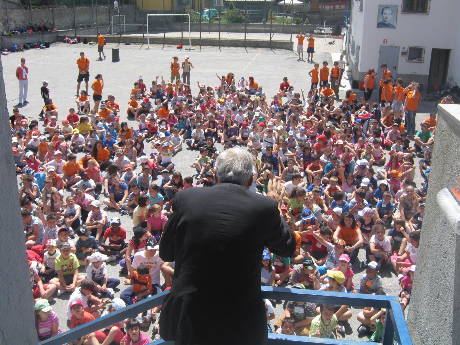 L'Oratorio di Oulx invaso da 600 ragazzi
