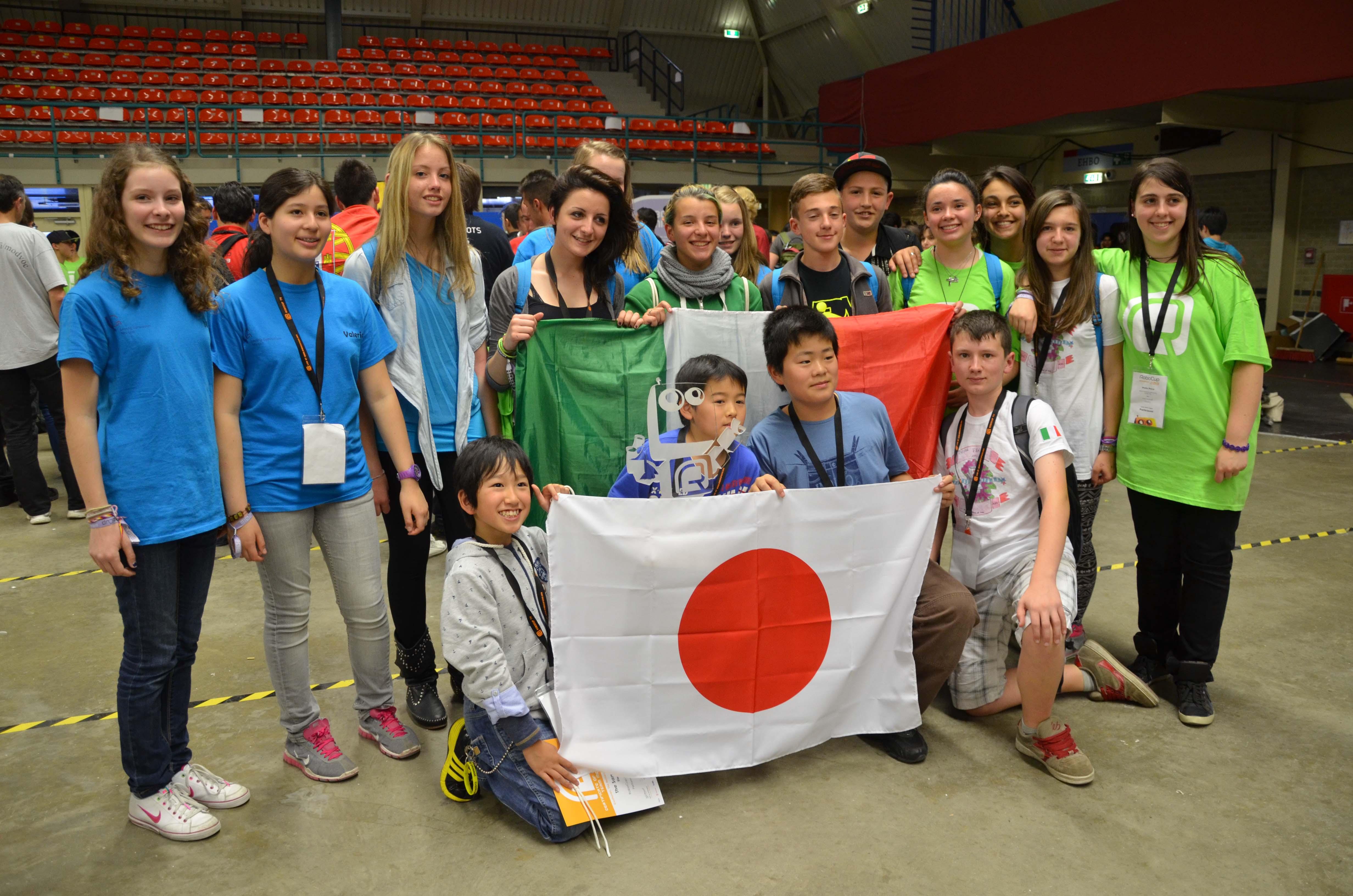 Studenti di S.Antonino campioni del mondo di robotica