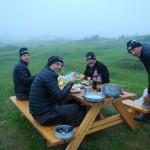 Si cena anche nella nebbia