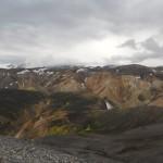 Le montagne del Landmannalaugar
