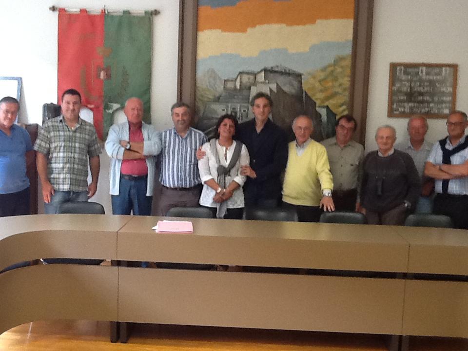 Michele Coppola incontra i sindaci dell'Unione dei Comuni Alta Valle di Susa