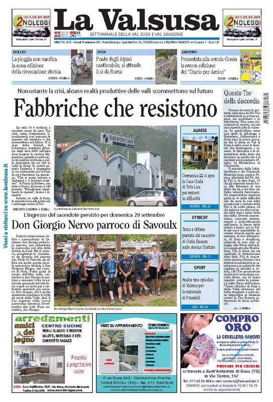 n. 35 del 19 settembre 2013