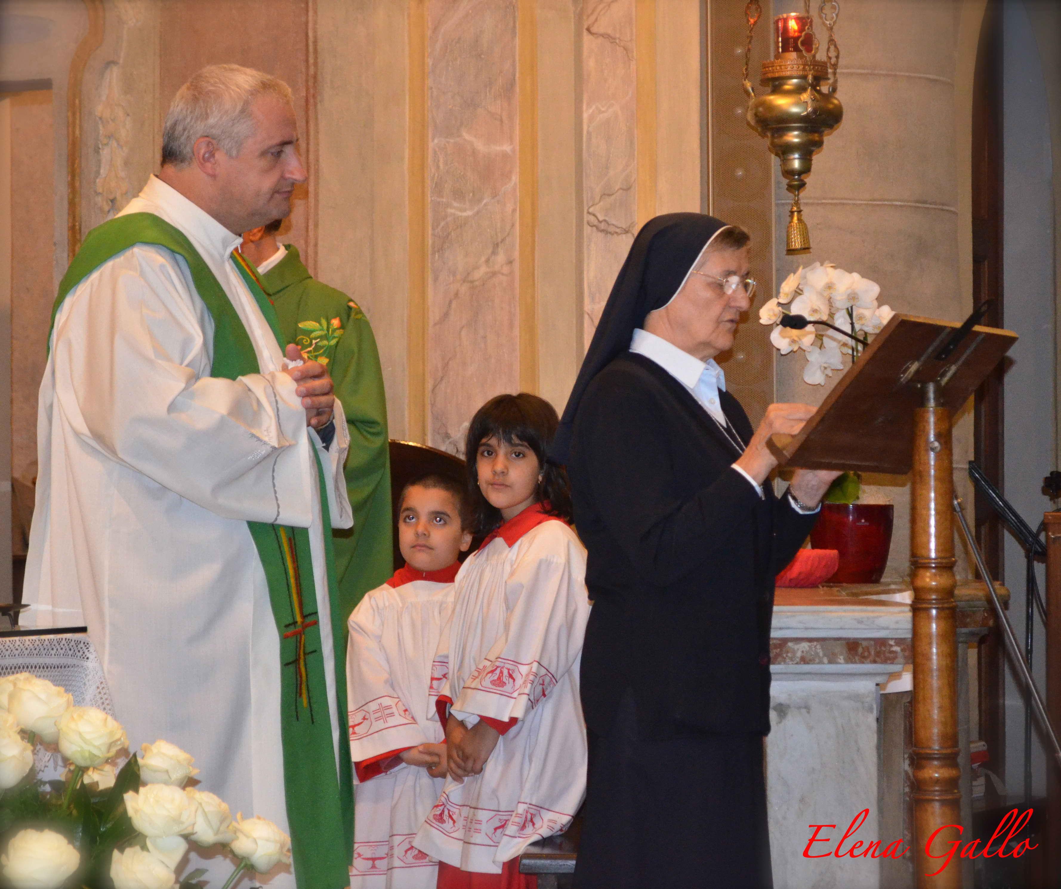 S.Antonino, festa per tre suore e due secoli di consacrazione religiosa