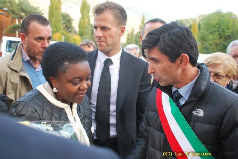 Bardonecchia. All'assemblea nazionale del MASCI. Il ministro Cécile Kyenge incontra gli Adulti Scout d'Italia