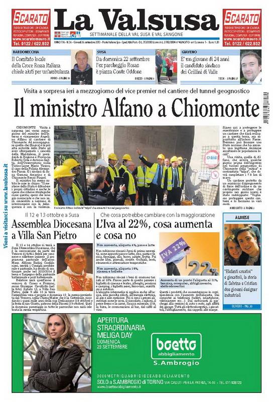 n. 36 del 26 settembre 2013
