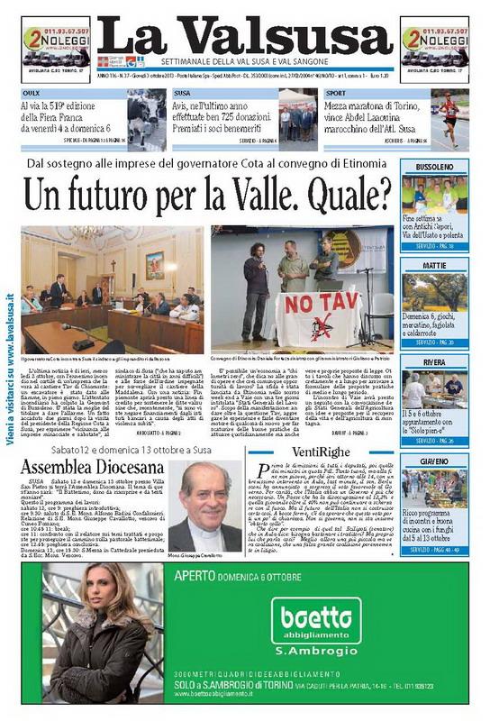 n. 37 del 3 ottobre 2013