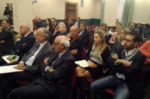 Gli imprenditori presenti all'incontro