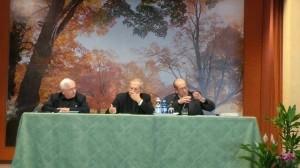 Don Giglioli, mons. Badini Confalonieri e mons. Giuseppe Cavallotto