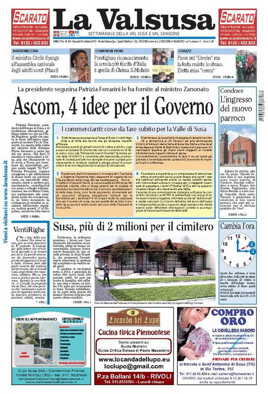 n. 40 del 24 ottobre 2013