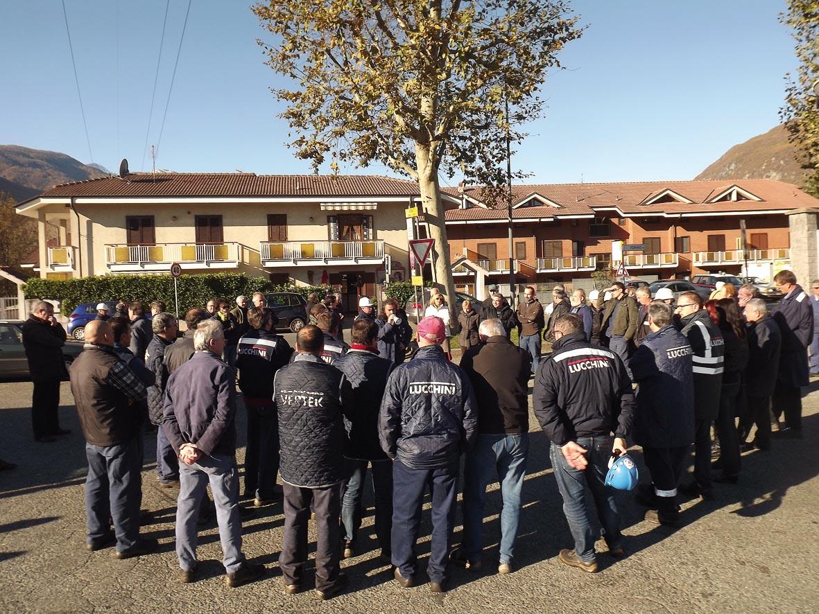 """I lavoratori della Vertek (già """"Monce"""") di Condove: """"Chiediamo dignità e lavoro"""""""