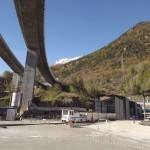 L'esterno del tunnel geognostico