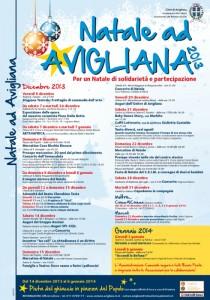 avigliana natale 2013 manifesto