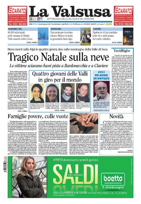 n. 1 del 2 gennaio 2014