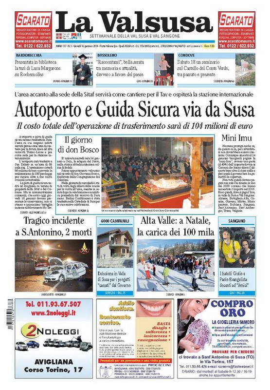 n. 3 del 16 gennaio 2014