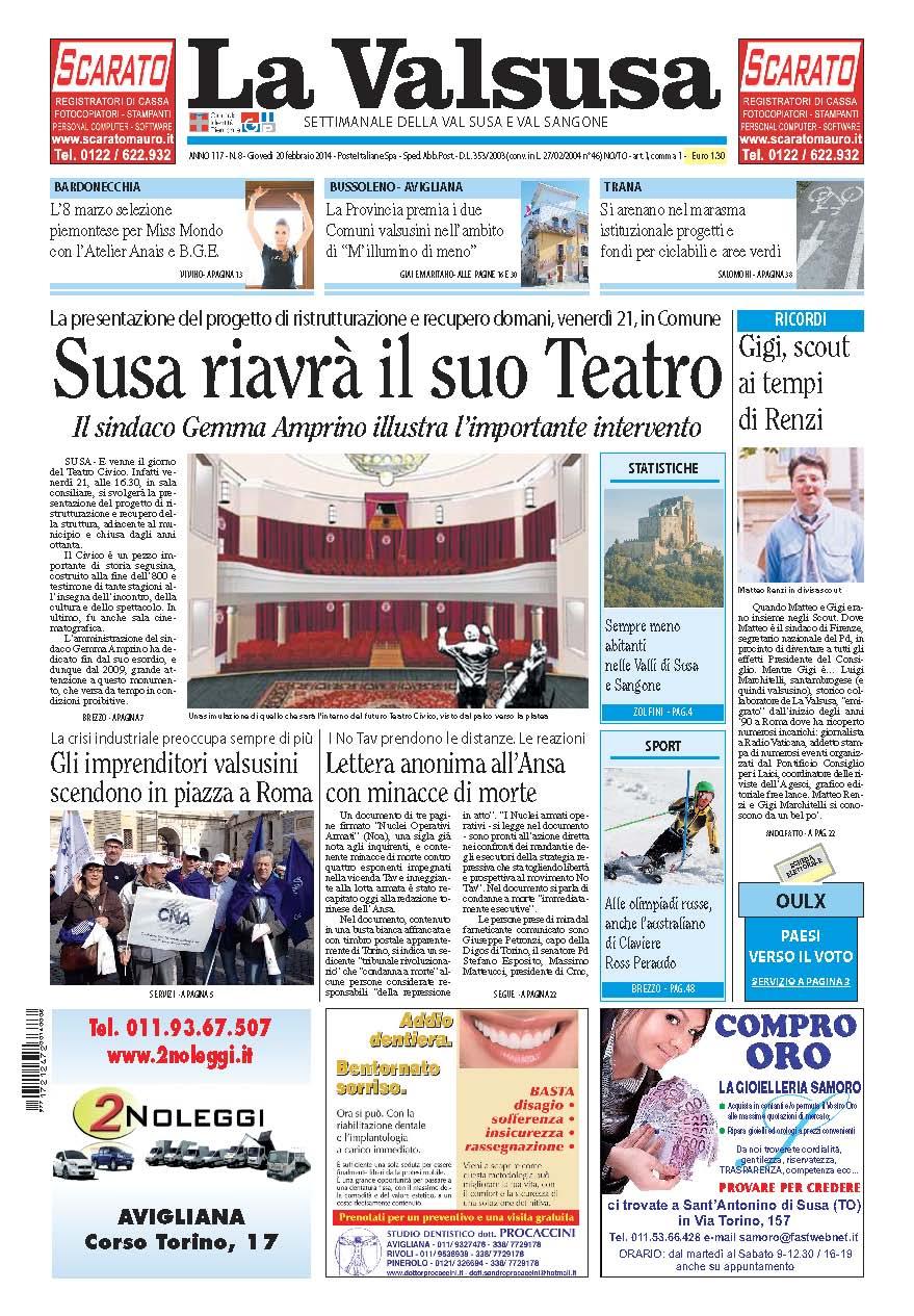 n. 8 del 20 febbraio 2014