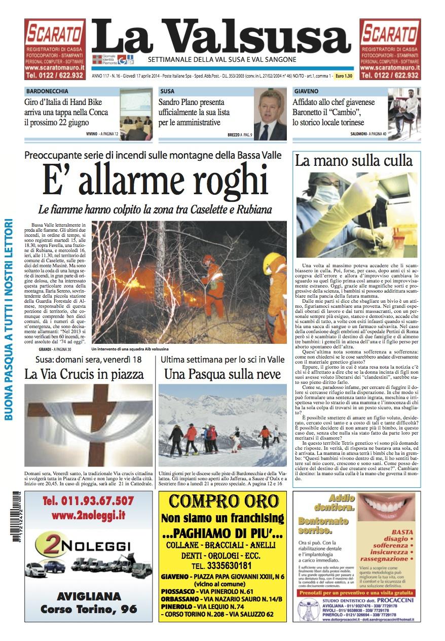 n. 16 del 17 aprile 2014