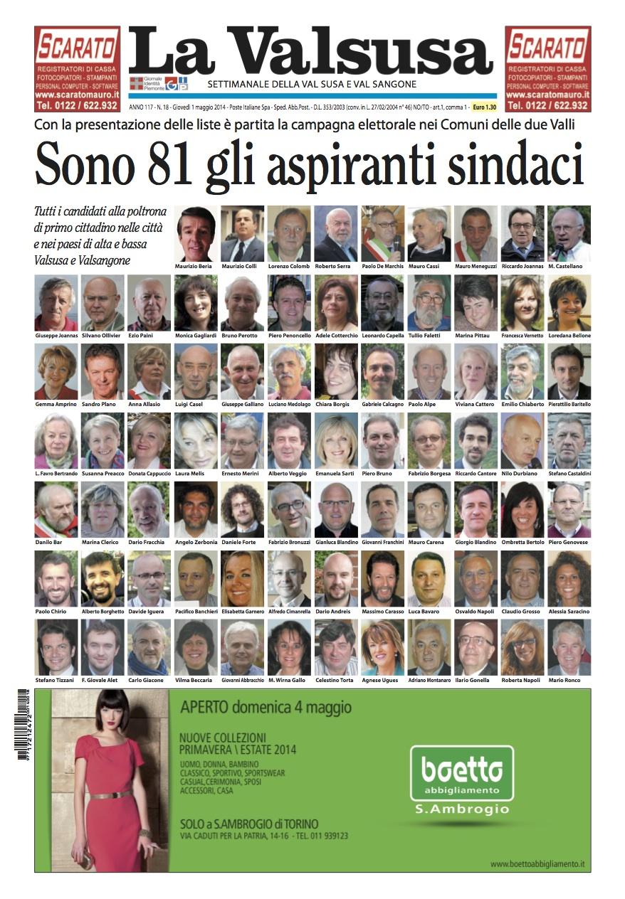 n. 18 del 1 maggio 2014