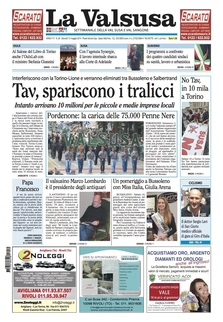n. 20 del 15 maggio 2014