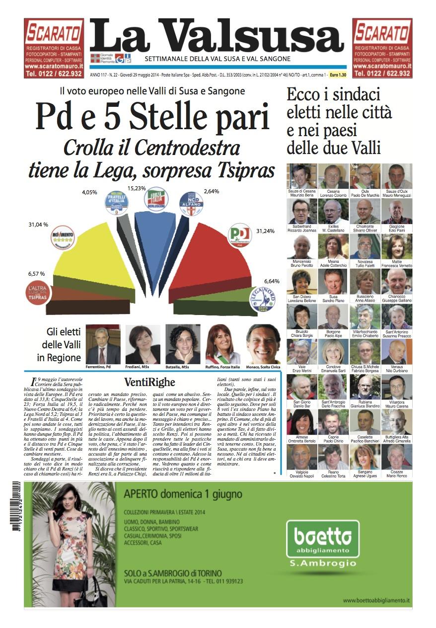 n. 22 del 29 maggio 2014