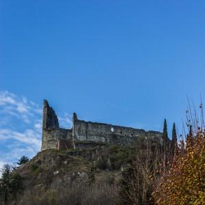 Il castello di Avigliana nella fotografia di E. Schiari