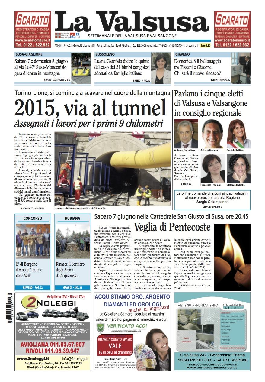 n. 23 del 5 giugno 2014