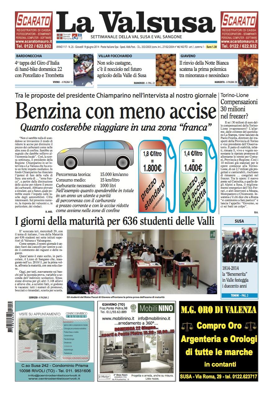 n. 25 del 19 giugno 2014