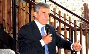 Il presidente della Regione Sergio Chiamparino