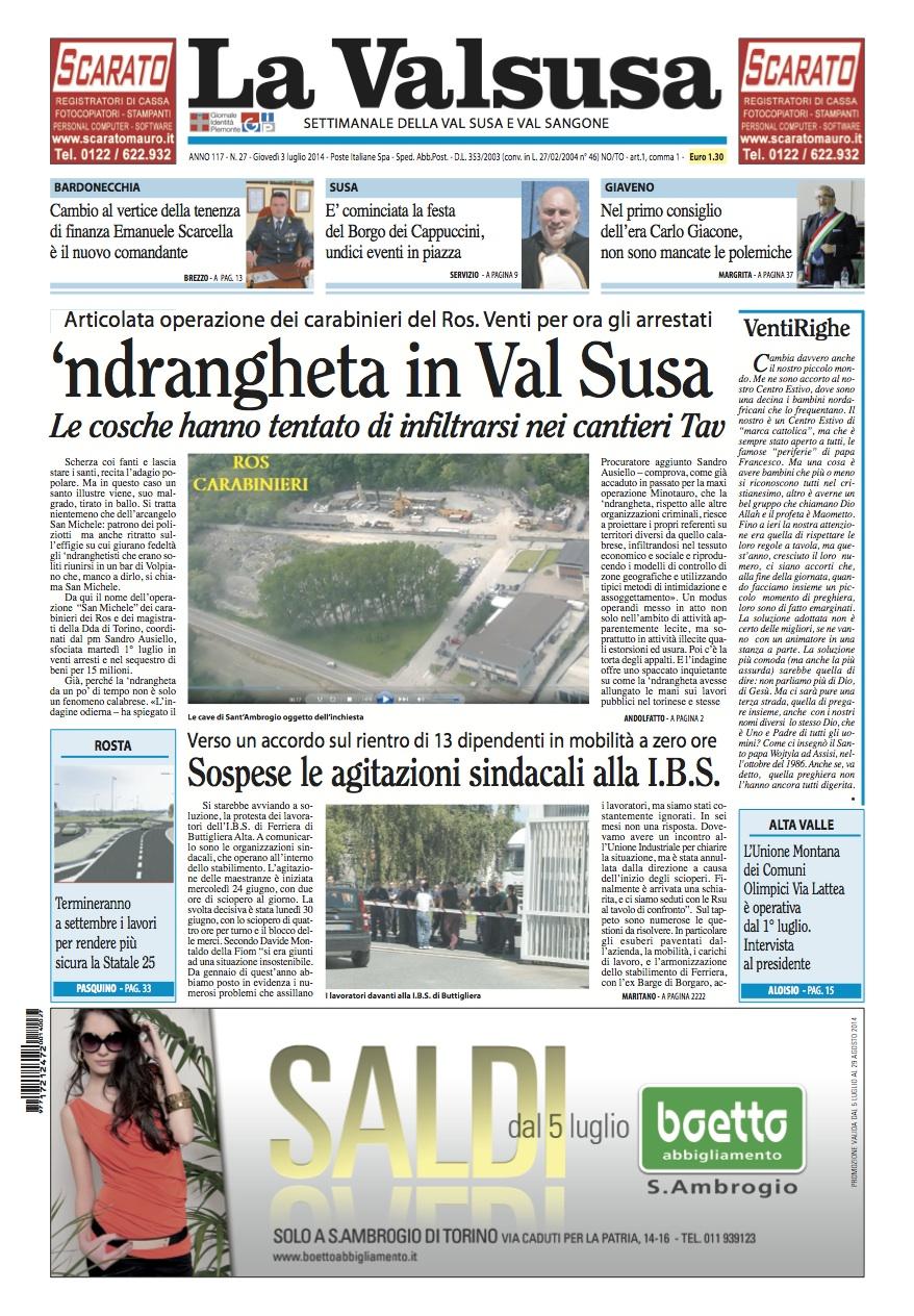 I titoli della settimana – 3 luglio 2014
