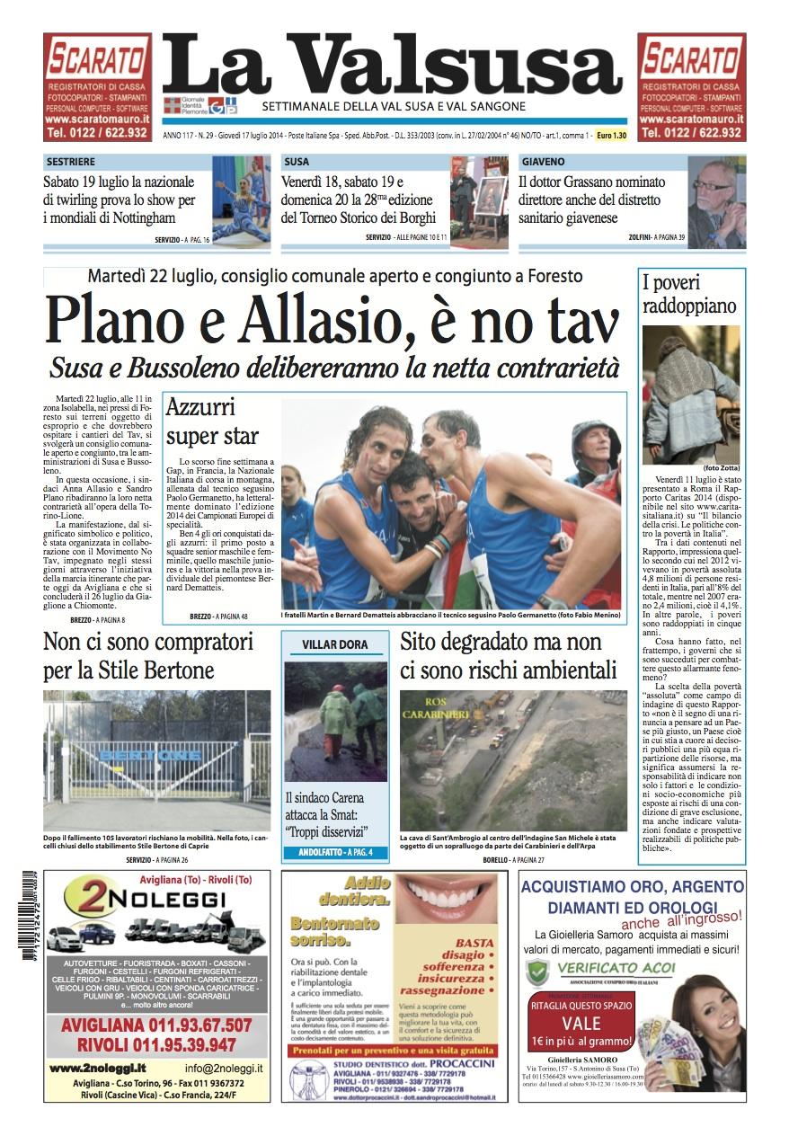 n. 29 del 17 luglio 2014
