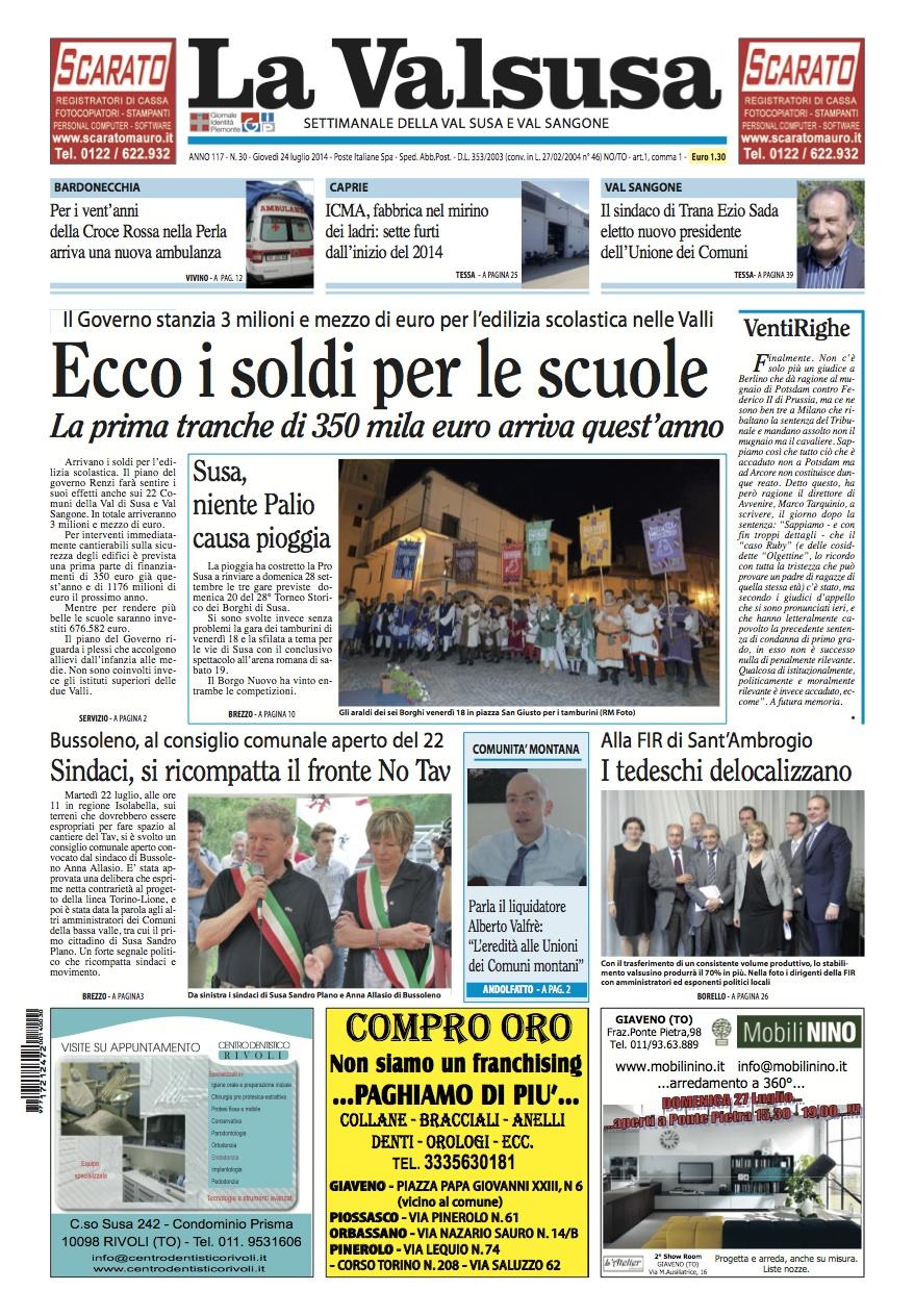 n. 30 del 24 luglio 2014