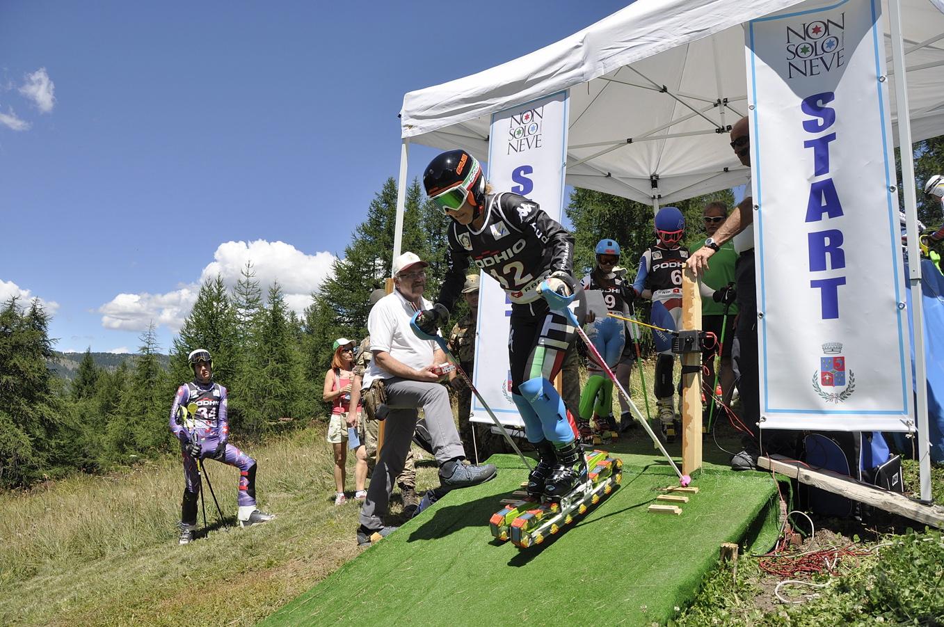 Cesana. Mondiali juniores di sci d'erba