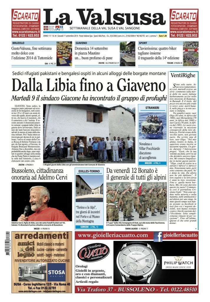 n. 34 del 11 settembre 2014