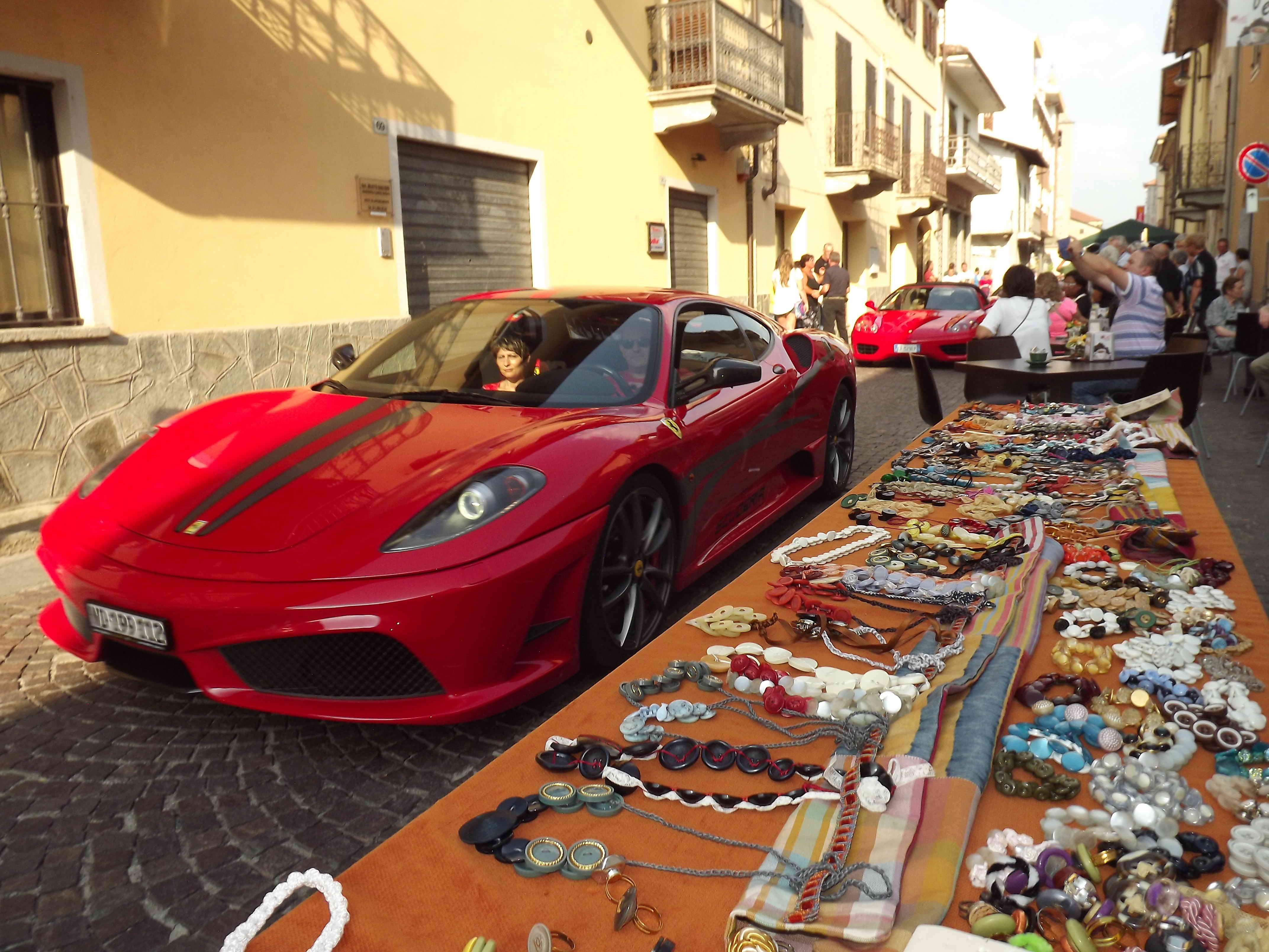 S.Antonino in festa con le… rosse. Un successo il Ferrari Day