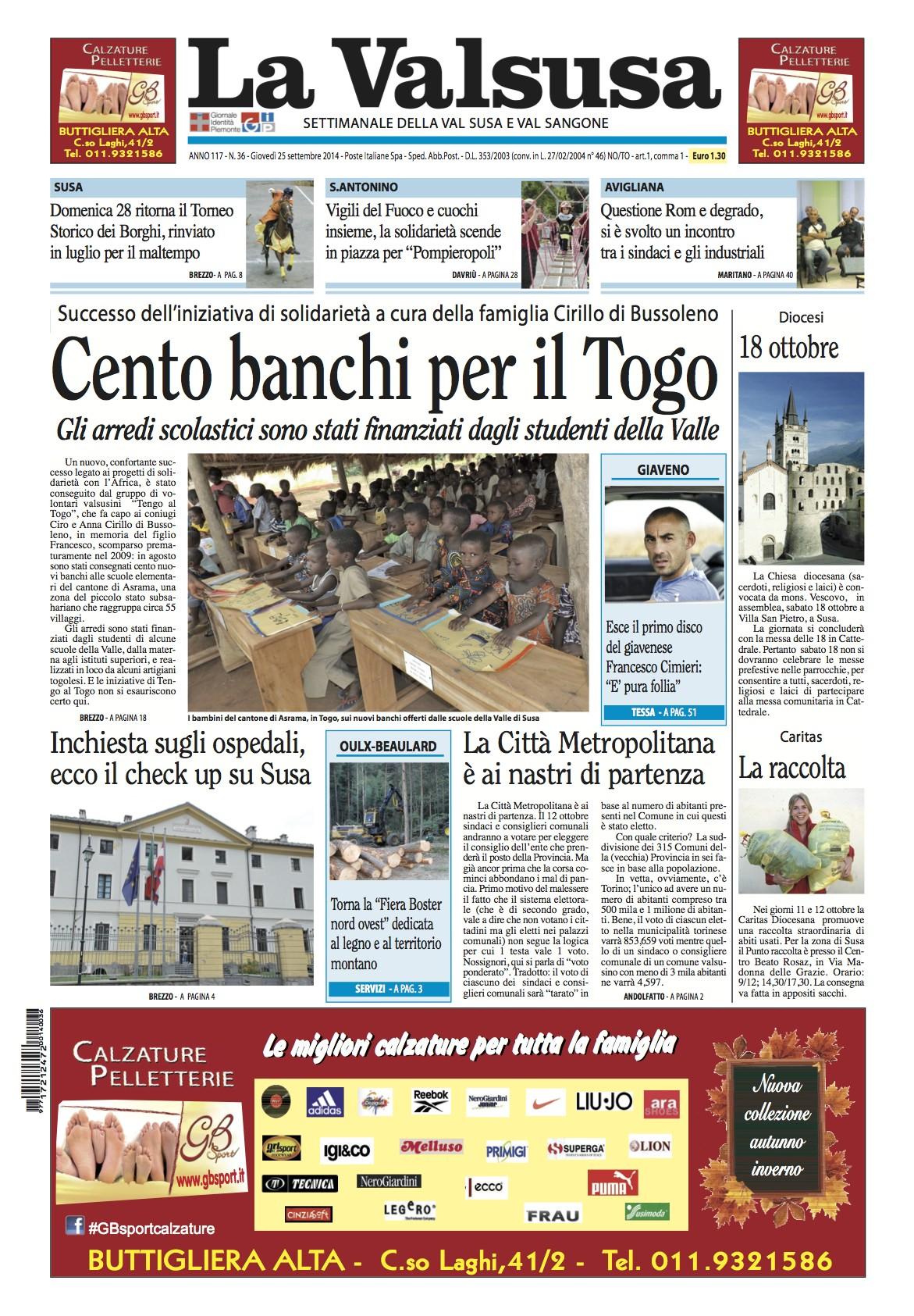 n. 36 del 25 settembre 2014