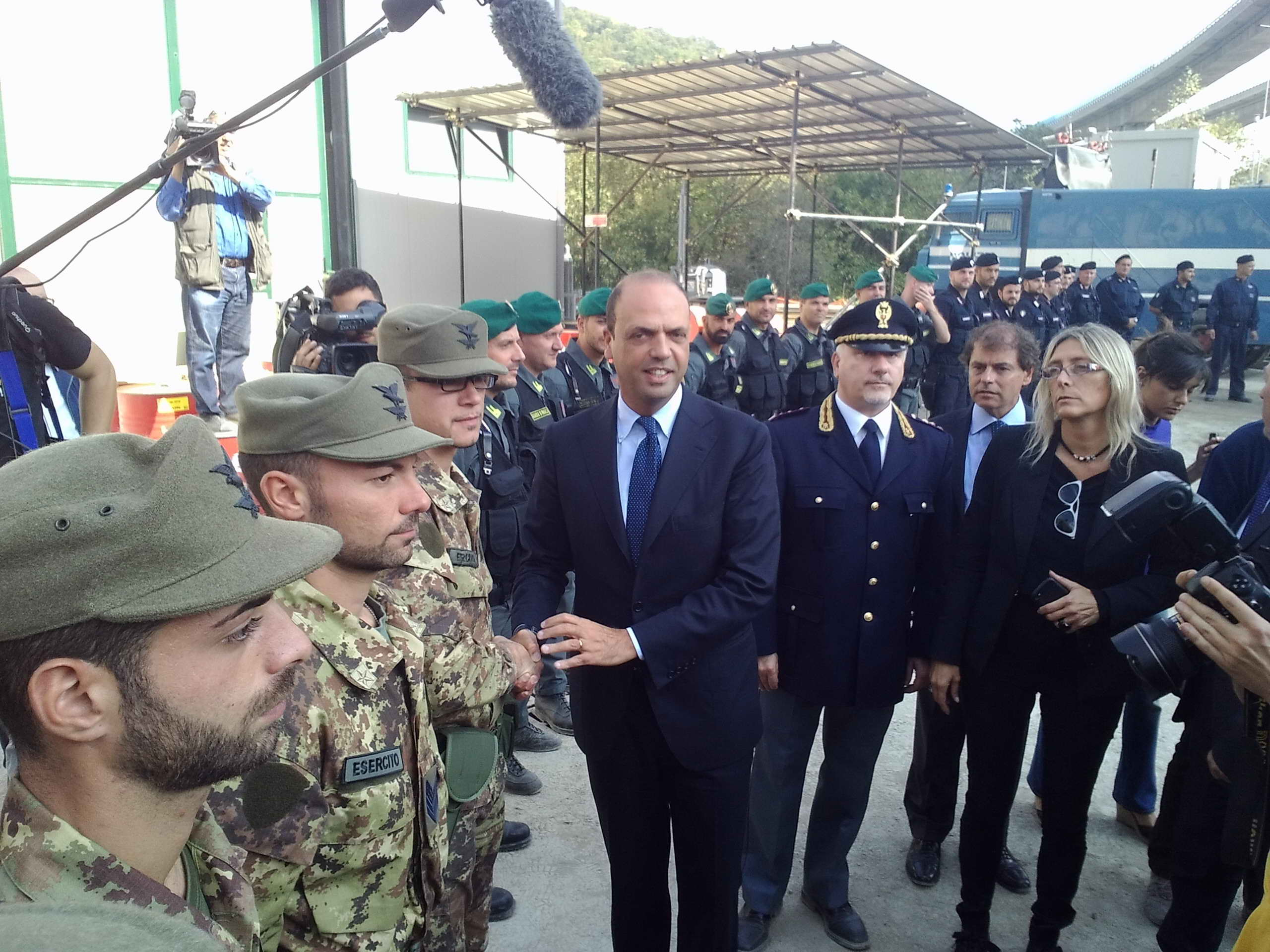 """Alfano: """"Misure antimafia sui cantieri Tav"""""""