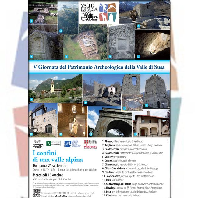 V GIORNATA DEL PATRIMONIO ARCHEOLOGICO DELLA VALLE DI SUSA