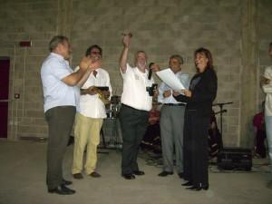 Giovanni Votta, premiato durante la festa patronale del 2007