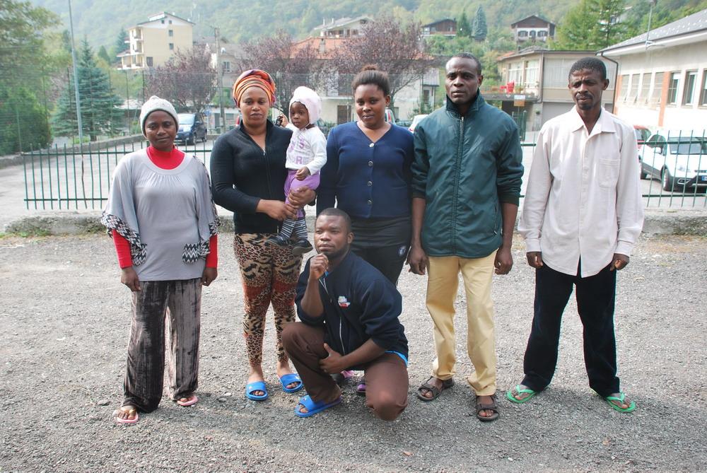 Dalla Libia fino a Novalesa: l'odissea di quattro famiglie