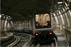 La metropolitana di Torino (foto Michele D'Ottavio)