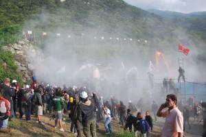 Gli scontri del 27 giugno 2011 (Foto C.R.)