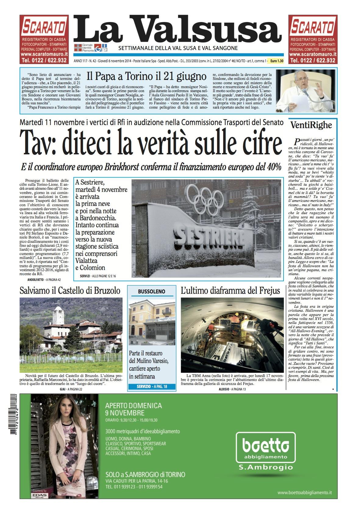 n. 42 del 6 novembre 2014