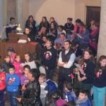 Scout e oratorio animano la Messa (foto Antonio Russo)