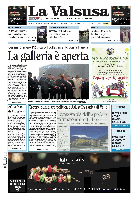 n. 46 del 4 dicembre 2014
