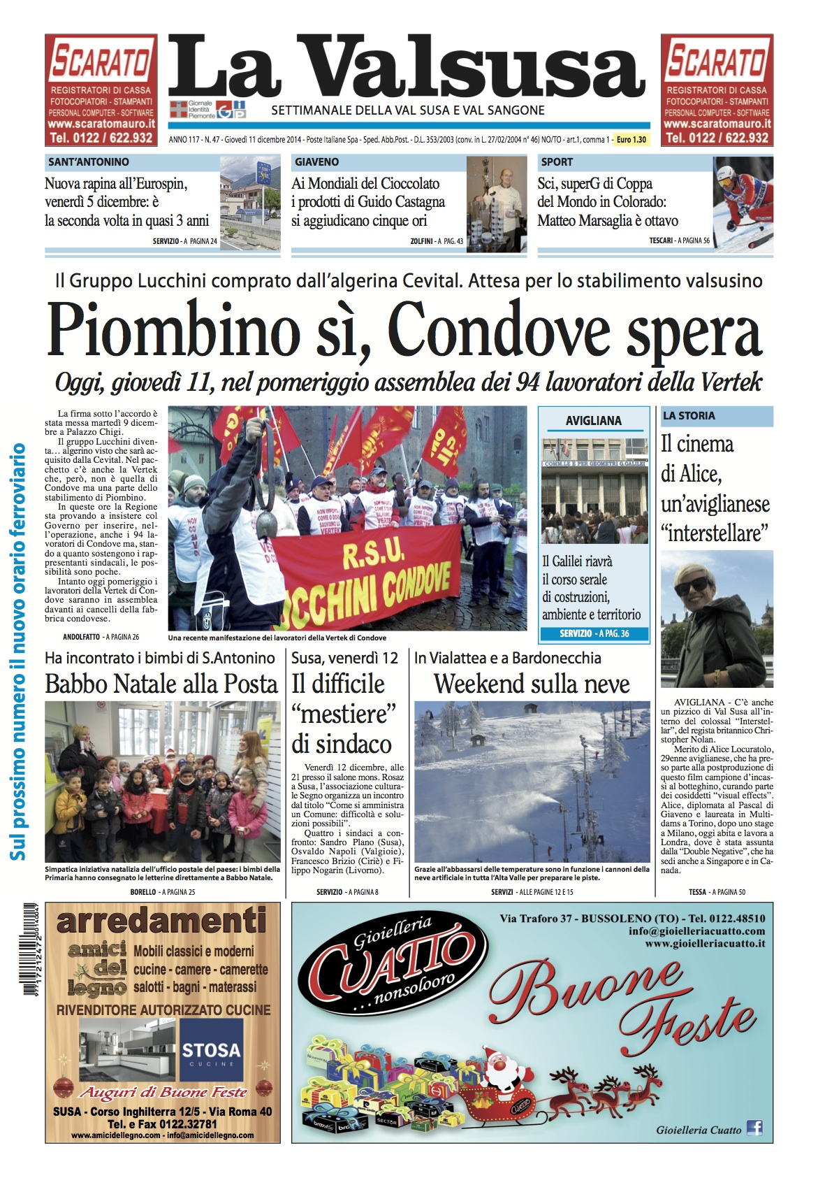 n. 47 del 11 dicembre 2014